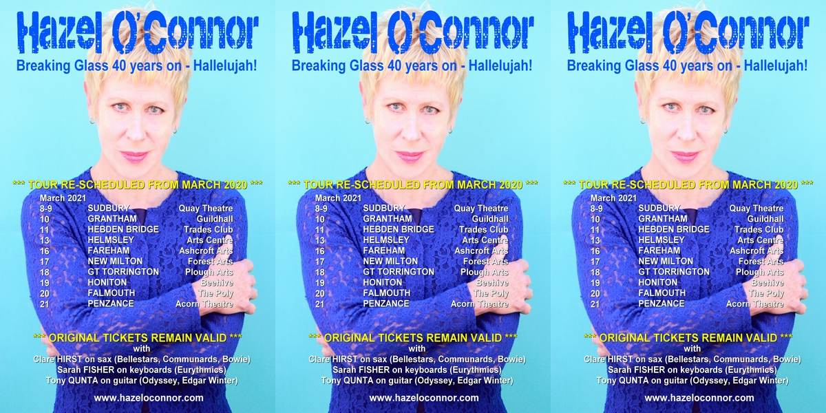 Hazel O'Connor - Breaking Glass 40 - Hallelujah