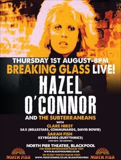 Hazel O'Connor Breaking Glass 2019
