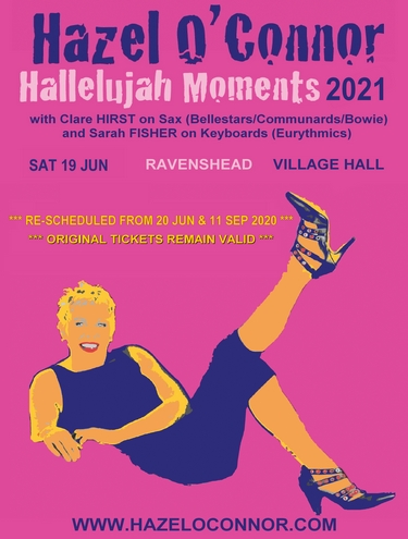 Hazel O'Connor Hallelujah Moments 2021