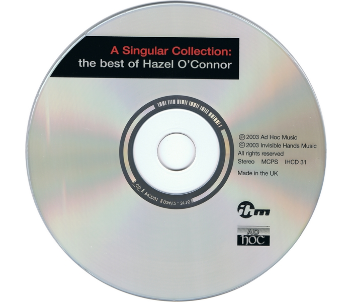 Hazel O'Connor - A Singular Collection - Side 1