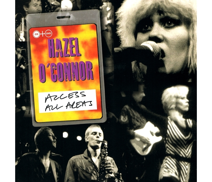 Hazel O'Connor - Access All Areas - Front Cover