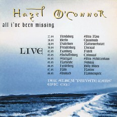 Hazel O'Connor - All I Have Been Missing 1995 Promo