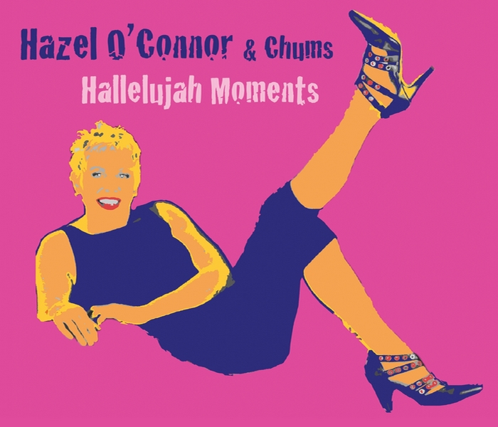Hazel O'Connor - Hallelujah Moments - Front Cover