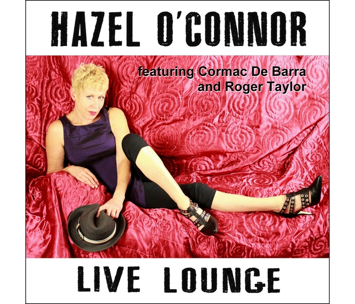 Hazel O'Connor - Live Lounge - Front Cover