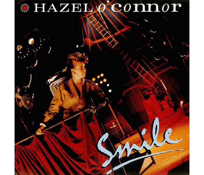 Hazel O'Connor - Smile 1984 - Front Cover