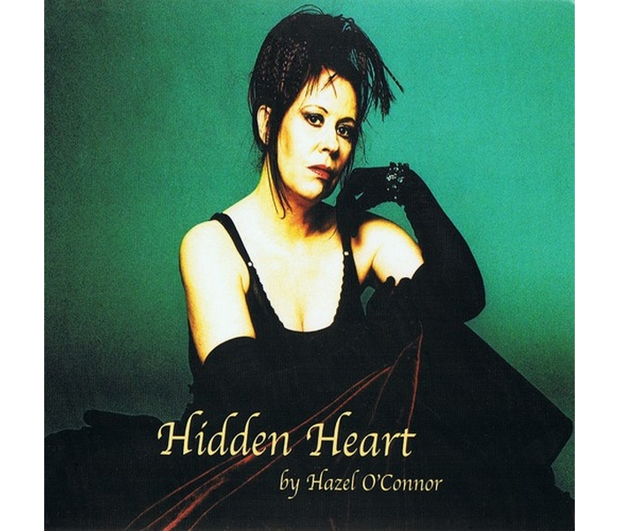 Hazel O'Connor - Hidden Heart - Front Cover