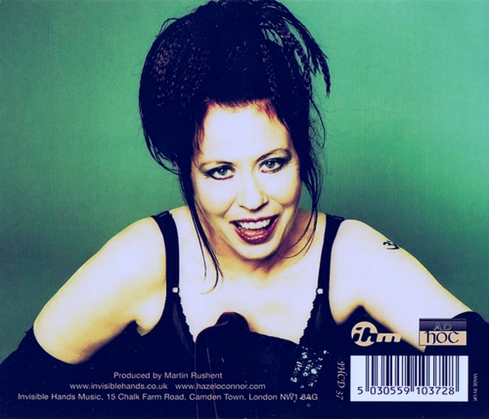 Hazel O'Connor - Hidden Heart - Back Cover