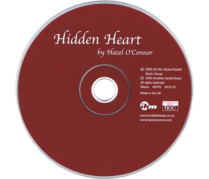 Hazel O'Connor - Hidden Heart - Disk