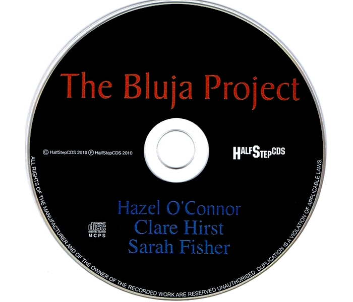 Hazel O'Connor - The Bluja Project - Disk